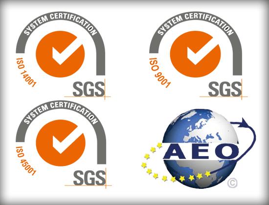 Certificado SGS